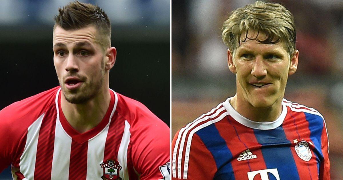 Morgan Schneiderlin and Bastian Schweinsteiger to train with Man United ... Morgan Schneiderlin  #MorganSchneiderlin
