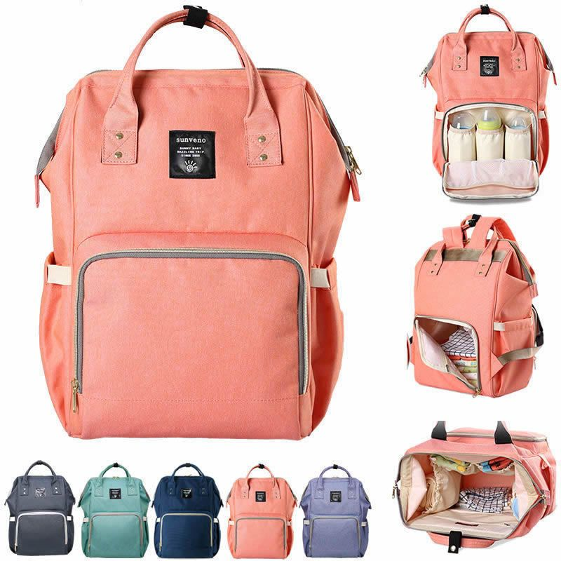 Baby Diaper Nappy Mummy Changing Bag Travel Backpack Multi-Function Hospital Bag
