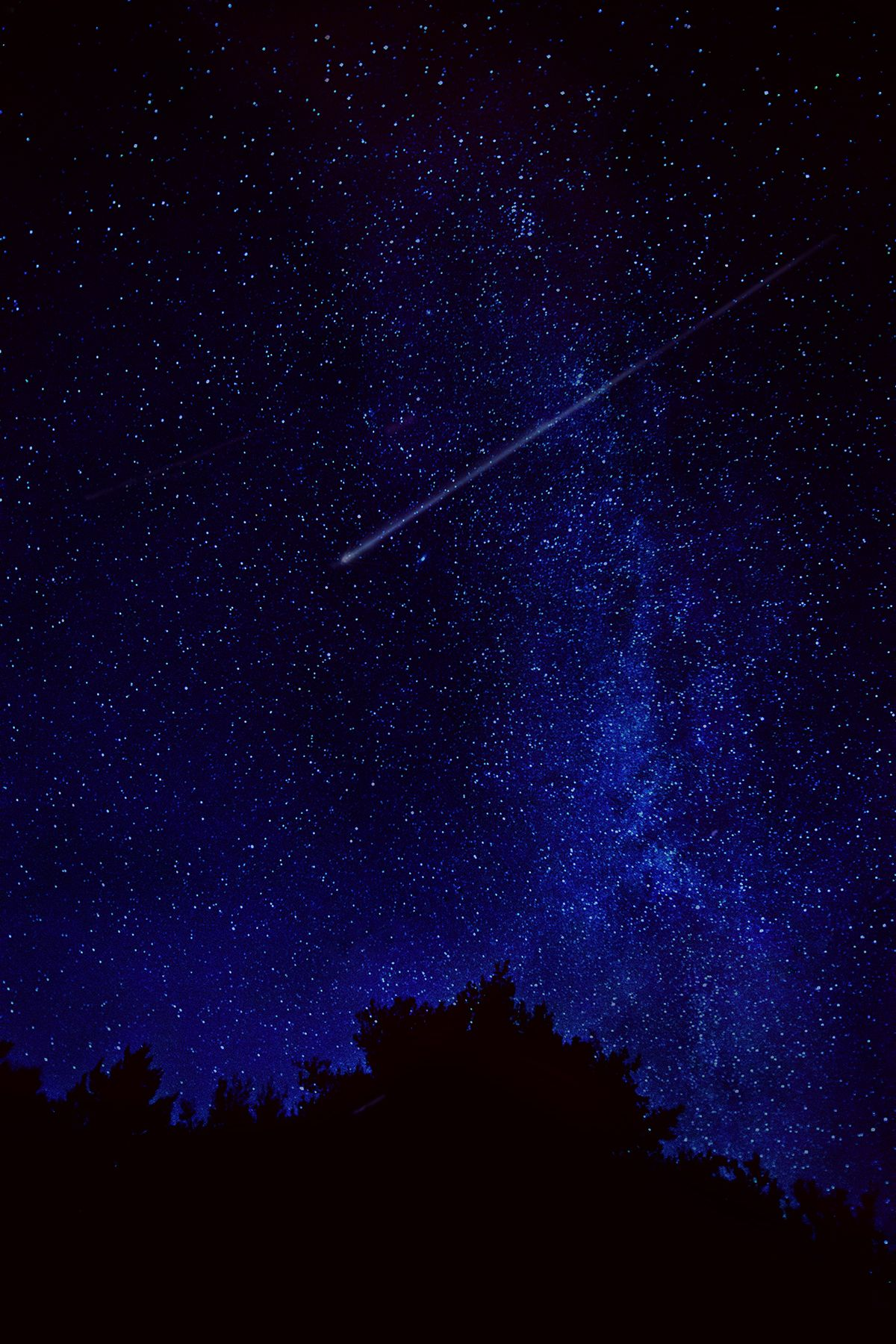 August Augury Stars And Moon Sky Full Of Stars Fine Art Landscape Photography