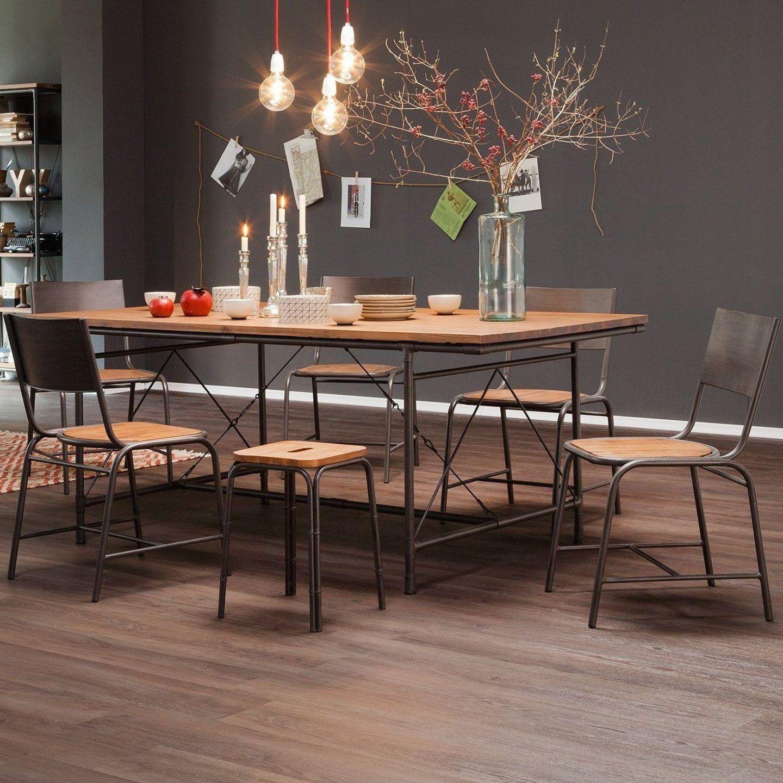 Massivholz Tisch Nussbaum Esstisch Massiv Rustikal Natur Esstisch Ausziehbar Holz Metall Esstisch Eiche Massiv In 2020 Dining Table Interior Design Kitchen Home