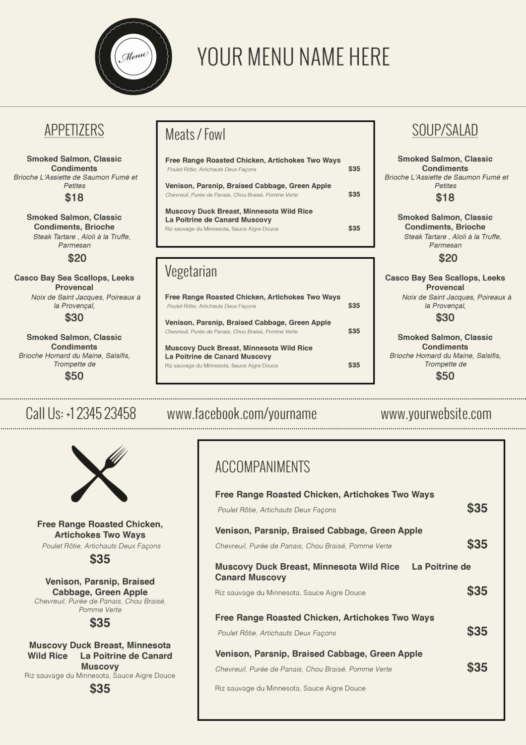 Free Cafe Menu Templates For Word Atlantaauctionco Throughout Free Cafe Menu Templates For Word Restaurant Menu Template Menu Restaurant Food Menu Template