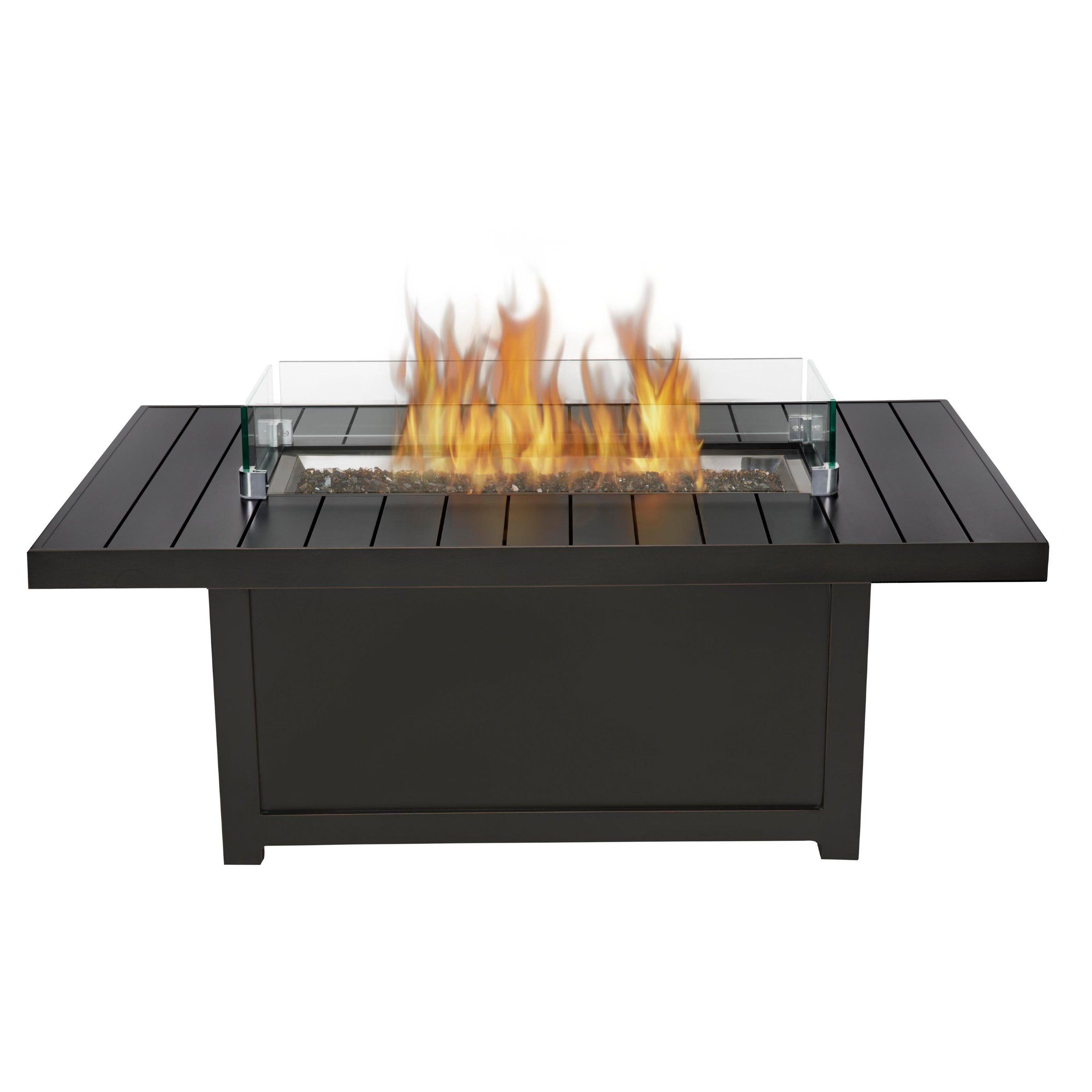napoleon rectangle propane fire pit table fire pits at hayneedle