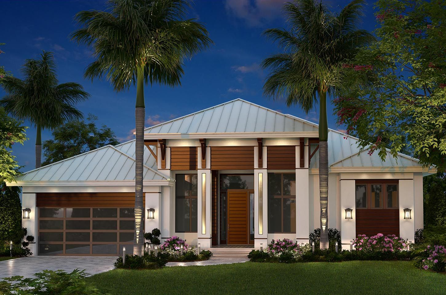 Plan 66363we Dramatic Florida House