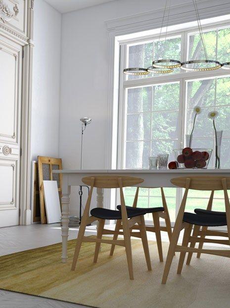 Directindirect Light Adjustable Pendant Lamp Super8  Le Deun Simple Pendant Lighting For Dining Room Design Decoration