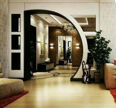 Beautiful Downstairs Plafond Design House Interior Decor Living Room Designs