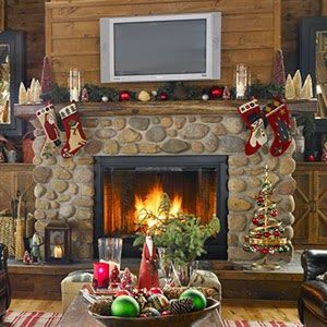 Fireplace Decorating For Christmas Part 1 Christmas Fireplace