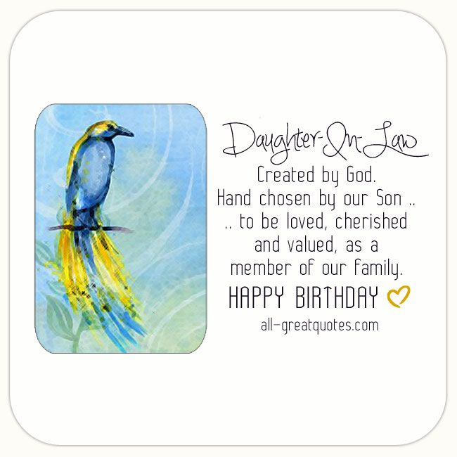 Free Birthday Cards For Daughter In Law Happybirthday