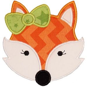 All Appliques - Girly Fox Applique