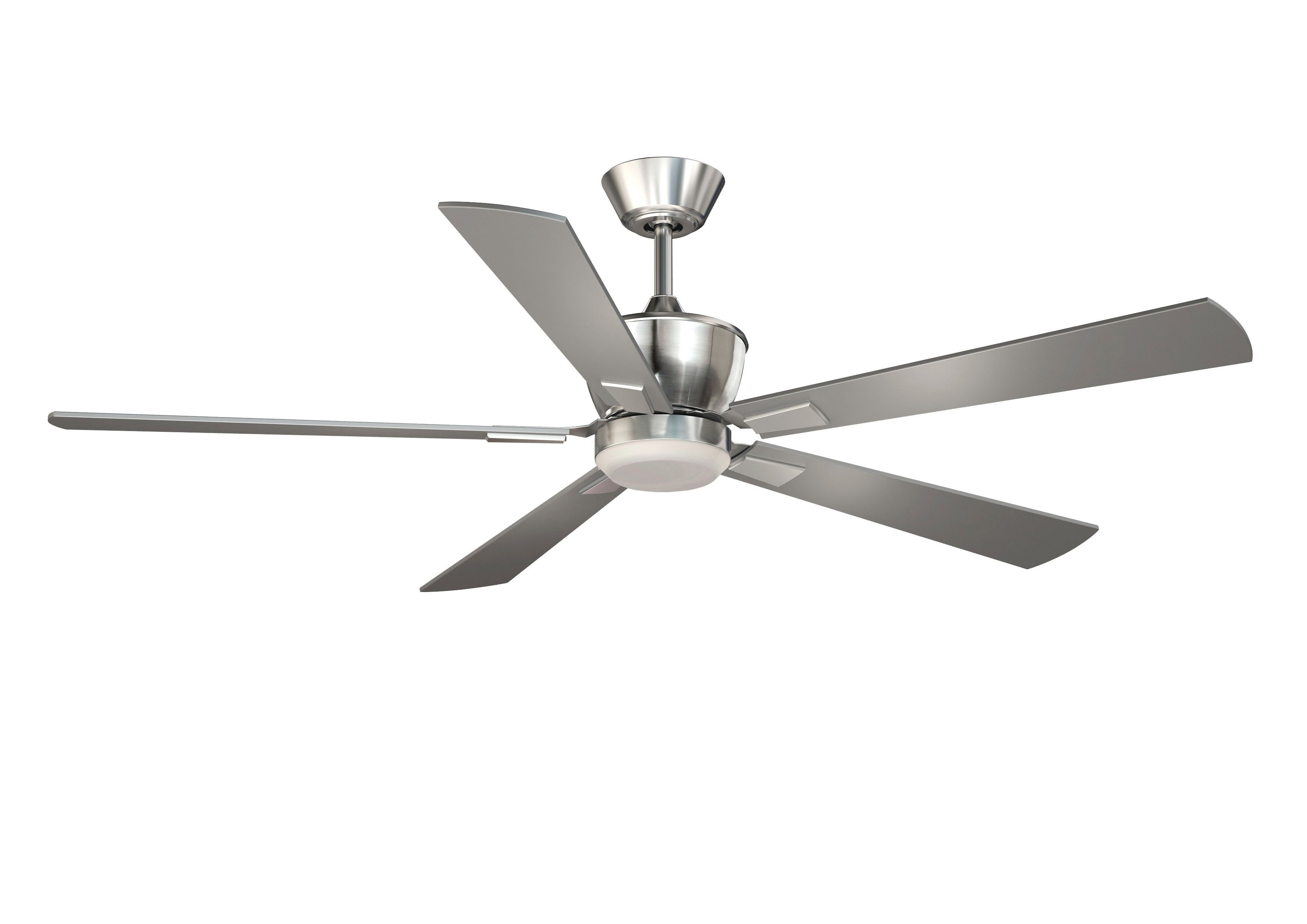 Vaxcel Lighting F0017 Geneva 52 Dc Ceiling Fan Satin Nickel