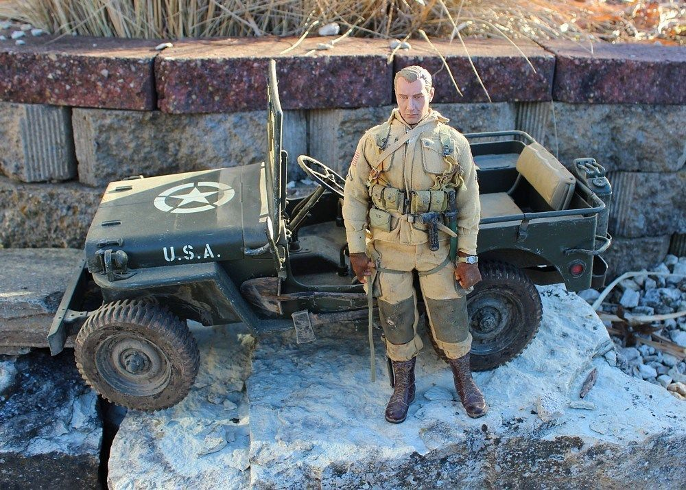 1 6 Scale Dragon Hasbro Wwii Us Willys Custom Jeep Figure