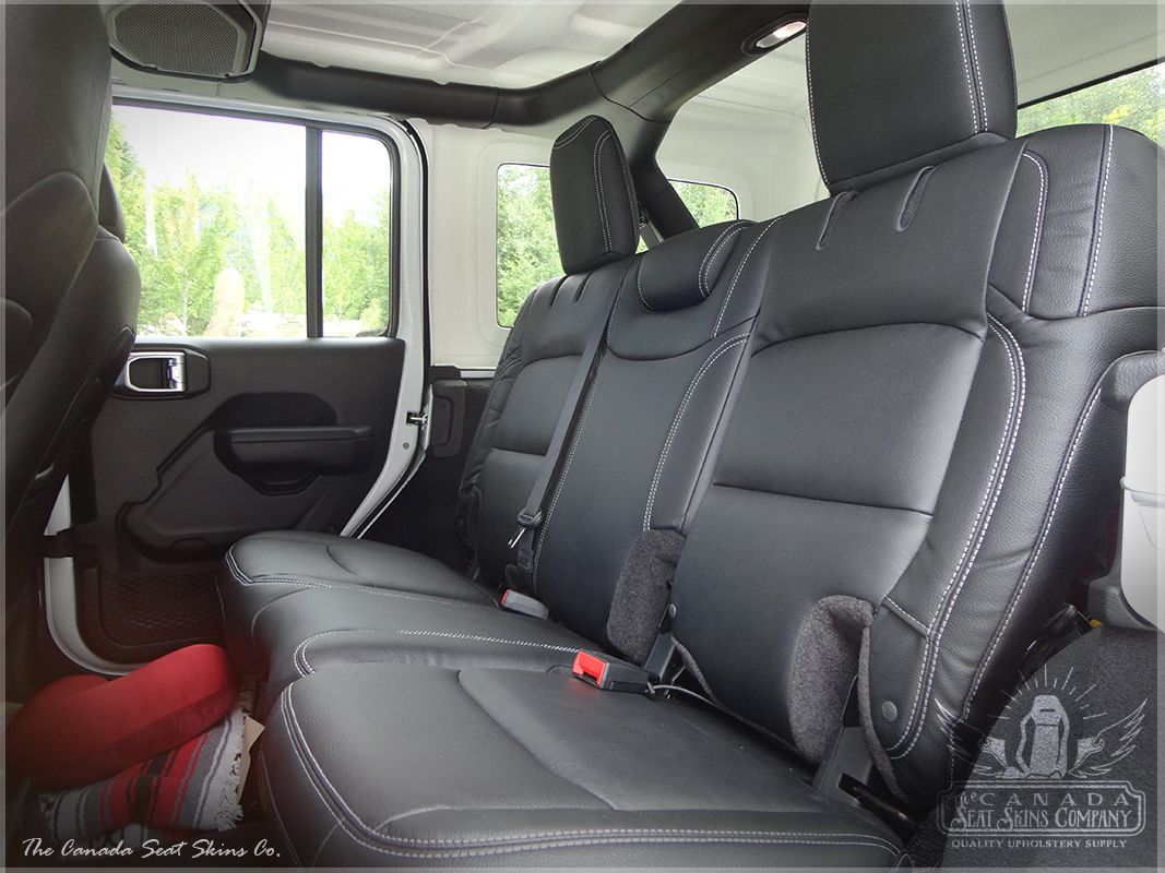 This Is A Photo Of Our 2018 2019 Wrangler Jl Leather Interior