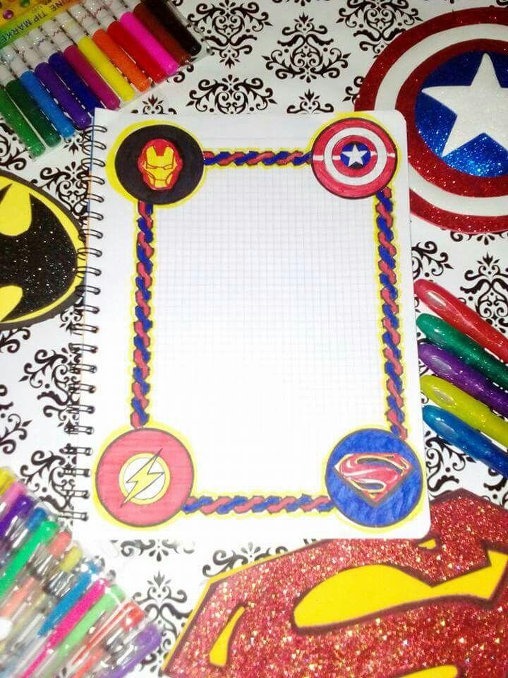 Carátula Cuaderno Web Cuadernos Creativos Carátulas Para