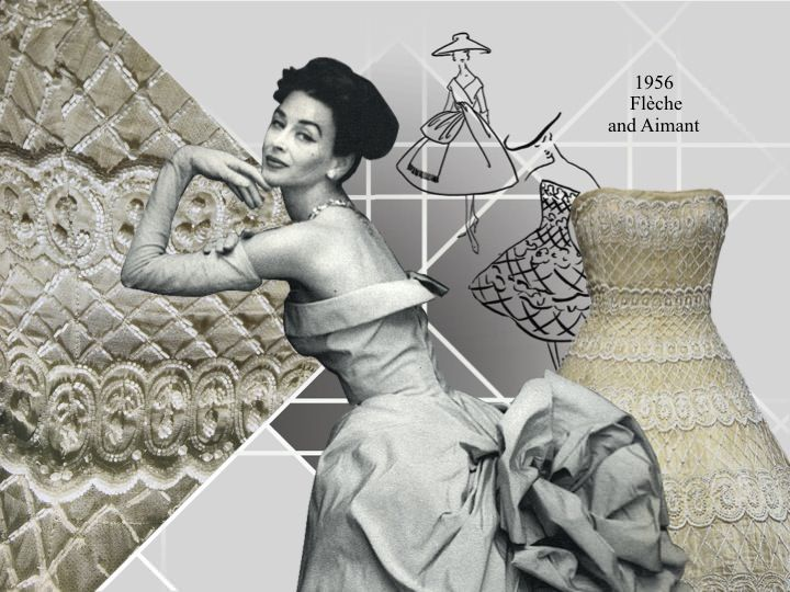 """1956 collections - """"Flèche"""" and """"Aimant"""""""