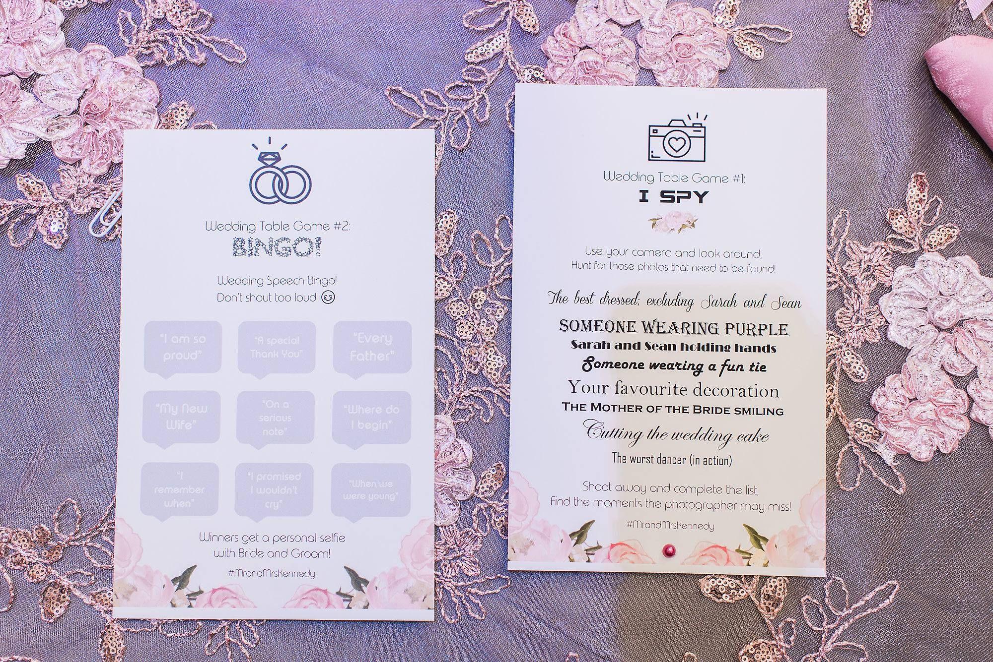 Fun Wedding Signs You Need For Your Wedding I Spy Wedding Game