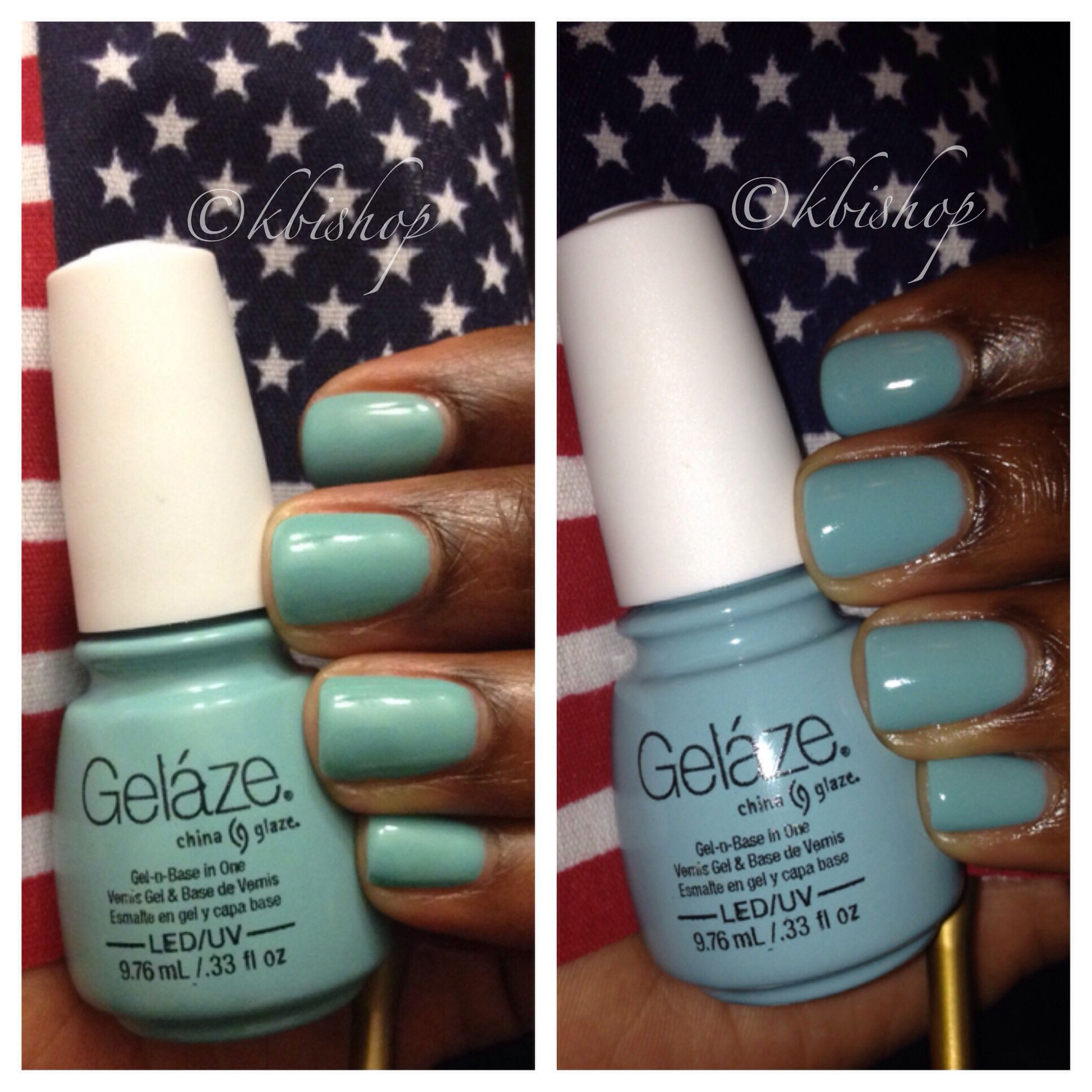 Gelaze gel nail polish by china glaze in the color \