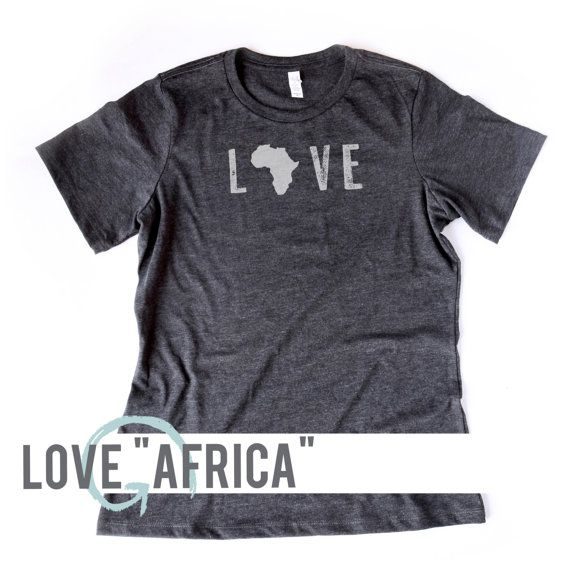 WOMEN'S Soft Blend Tee   Love Africa Tee   Uganda   Bob Goff   Trafficing   South Africa   Kenya   Libya   Egypt   Liberia   Namibia  