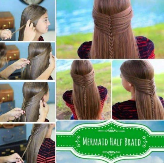 Mermaid Tutoriel Braid Coeur