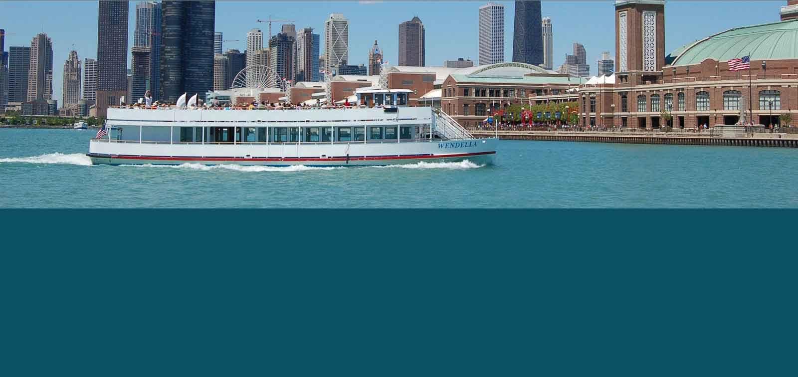 Wendella Sightseeing Boat Tours Chicago's Original