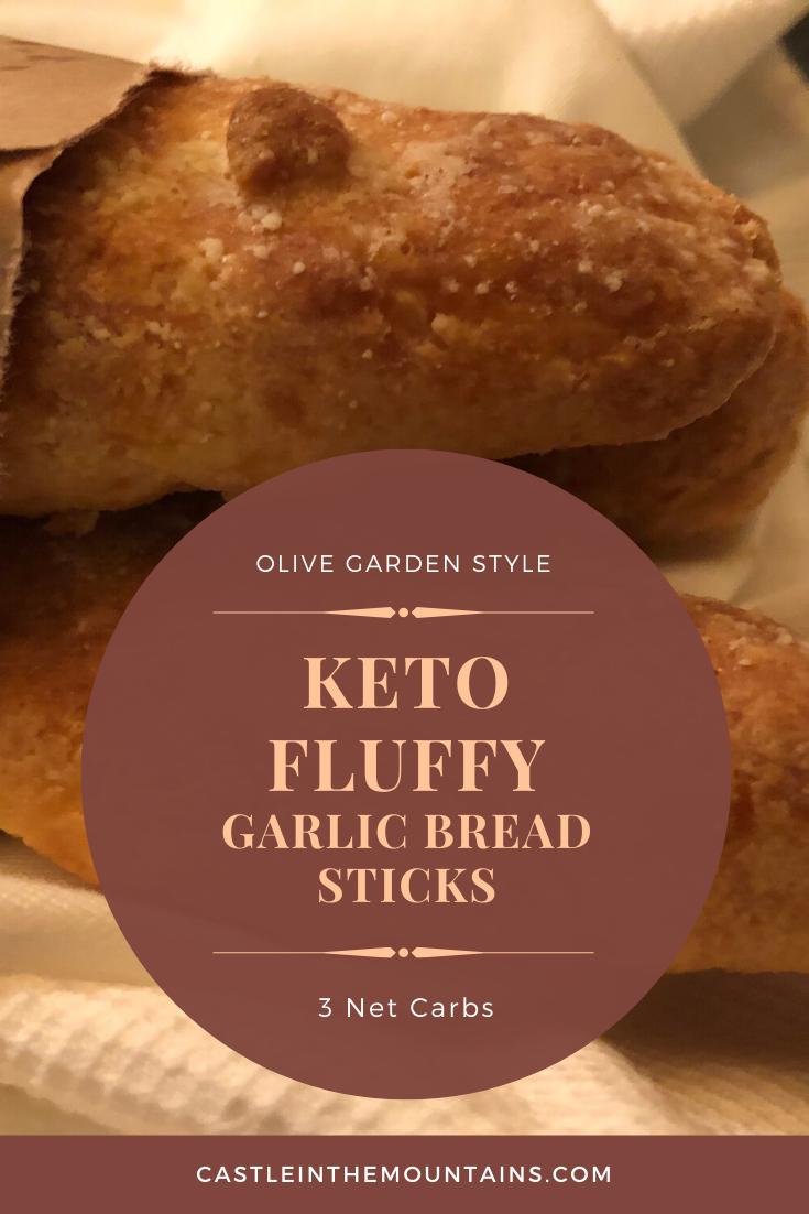 Low Carb Garlic Bread Sticks Fluffy Fathead Version