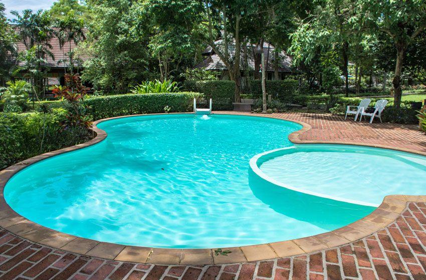 27 Best Kidney Shaped Pool Designs Kidney Shaped Pool Outdoor