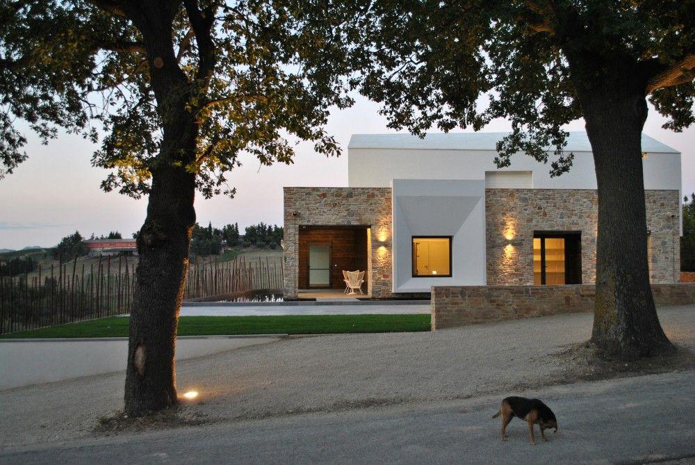 Gallery of Nuova Cantina Siliquini / Studio Scaramucci - 11 Façades - Idee Facade Maison Moderne