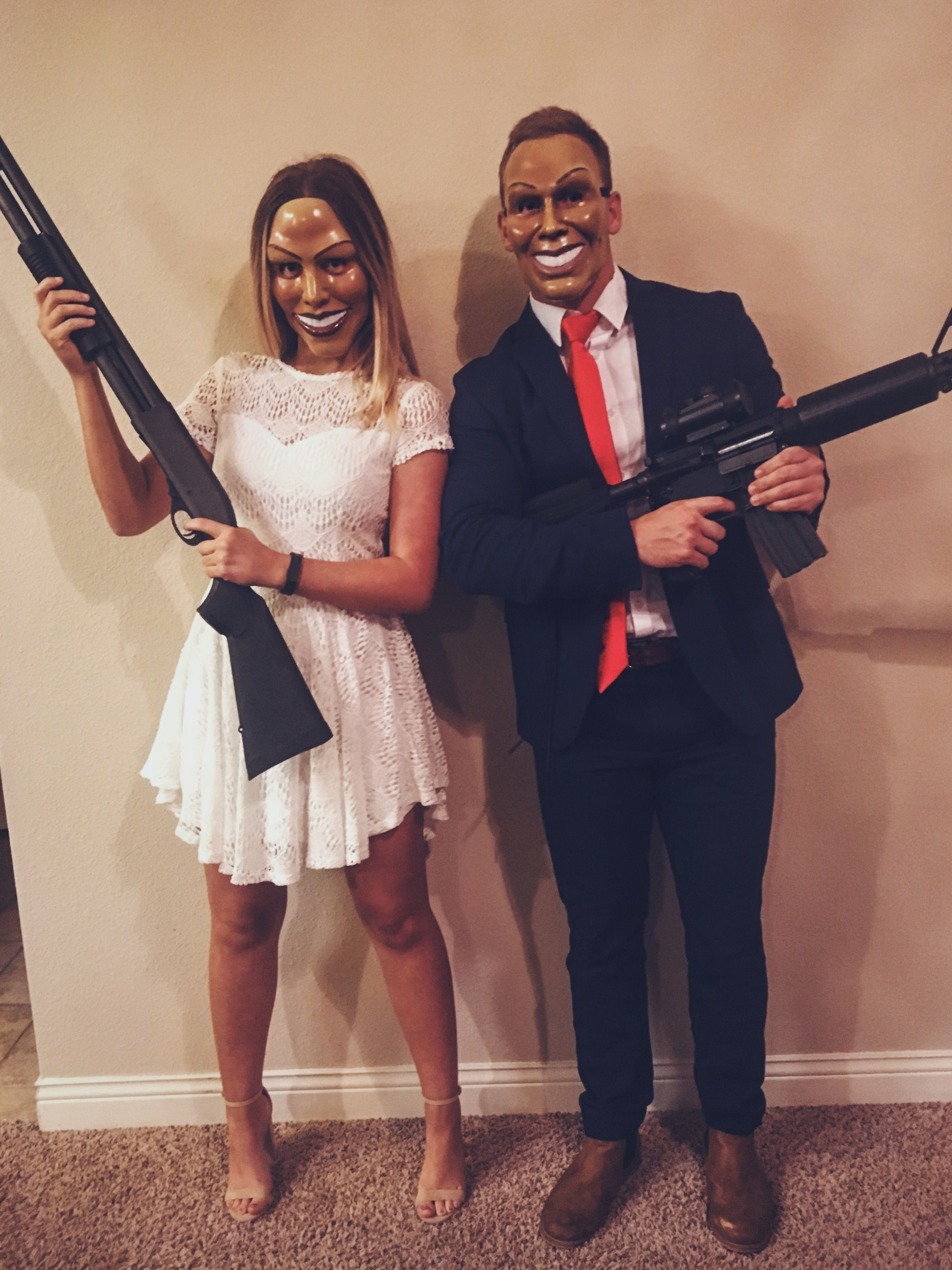 the purge election year couple costume  sc 1 st  Pinterest & the purge couples costume u2026 | Halloween! | Pinteu2026