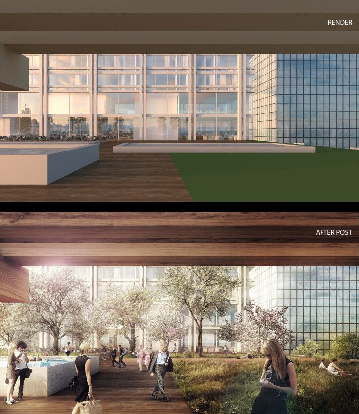 Making of landenberghaus by loomn 3d architectural for Programas de arquitectura y diseno