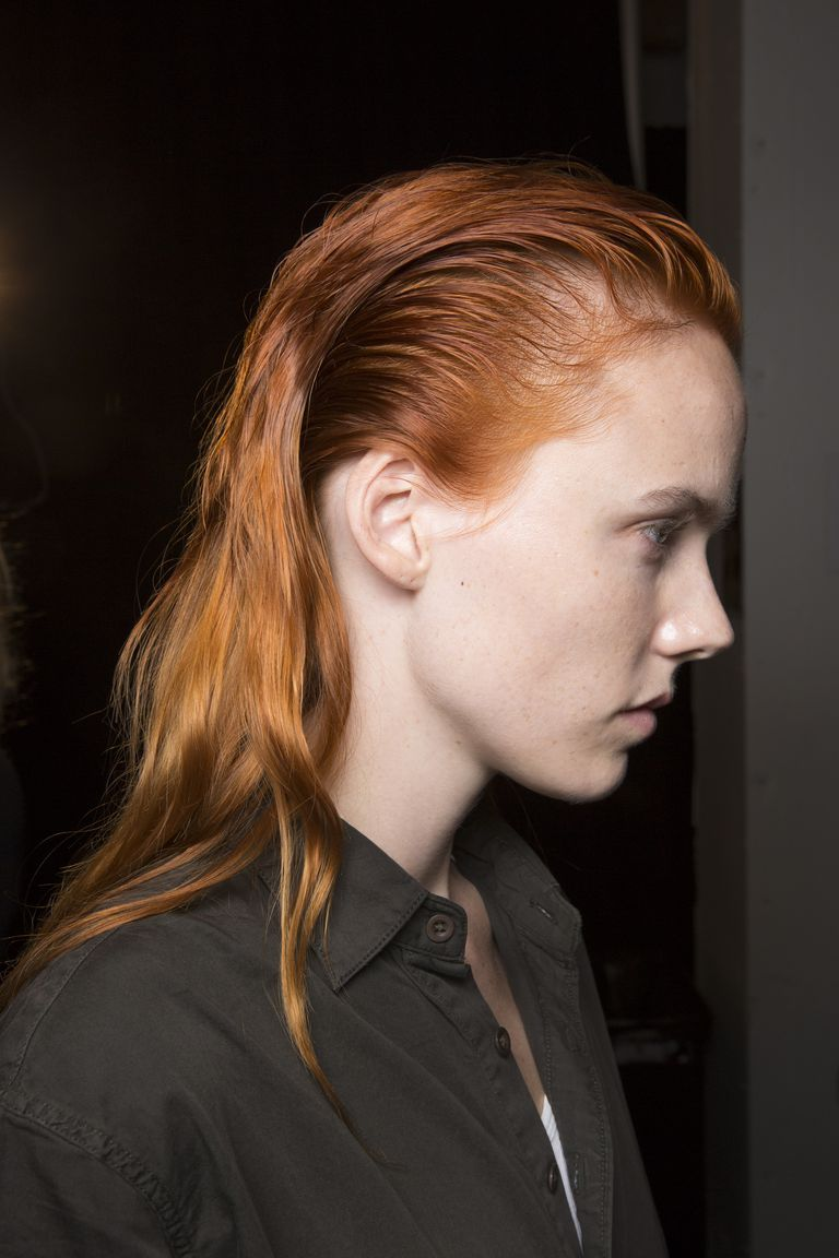 Every Major Hair Look From Fashion Week SS  red hair  Pinterest
