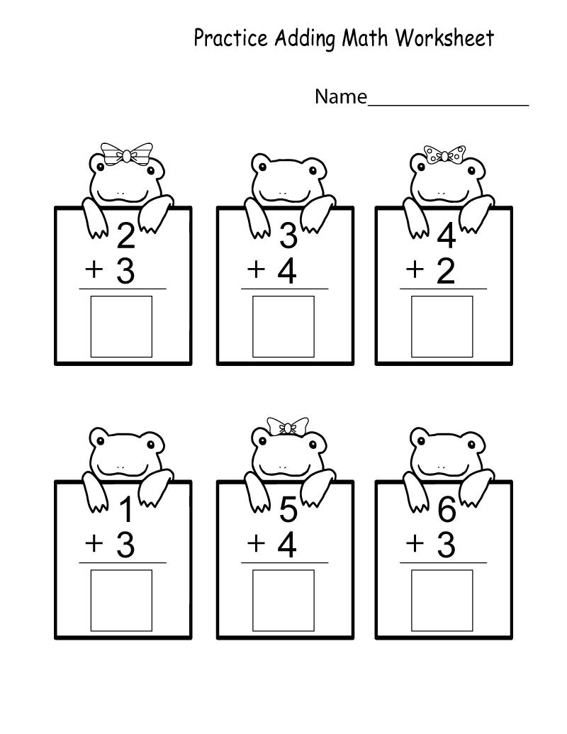 Kindergarten Printable Worksheets Pdf Kindergarten Math Worksheets Kindergarten Math Worksheets Free Kindergarten Addition Worksheets