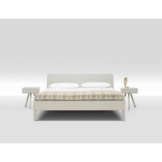 Holzbett weiß  Loof Basket Holzbett weiß lackiert | Möbel | Pinterest | Holzbett ...