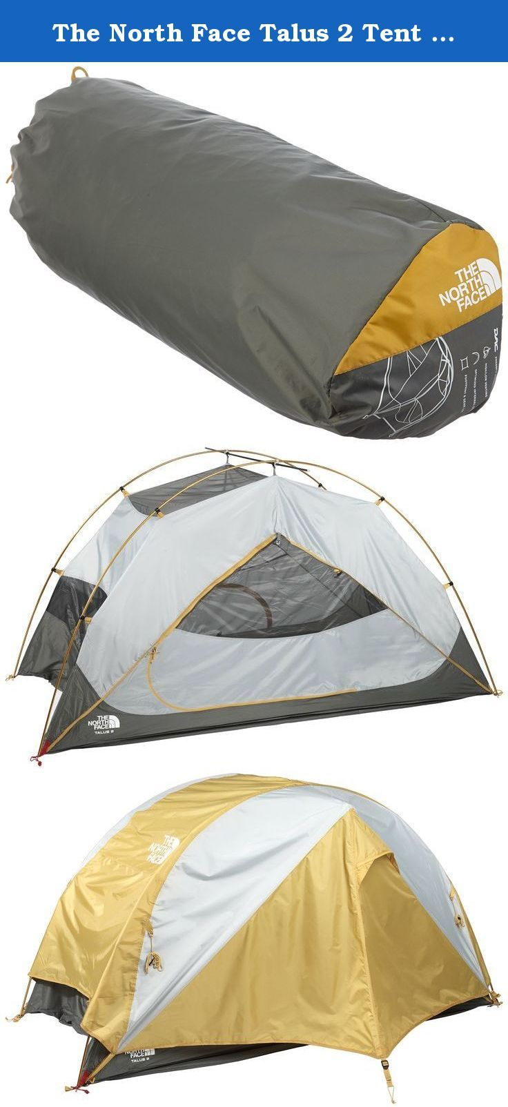 The North Face Talus 2 Tent - Castor Grey/Arrowwood Yellow. New for 2014  sc 1 st  Pinterest & The North Face Talus 2 Tent - Castor Grey/Arrowwood Yellow. New ...