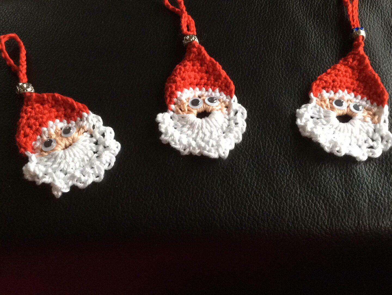 Leuk om te maken en zo klaar deze kerstmannetjes | Haken | Pinterest