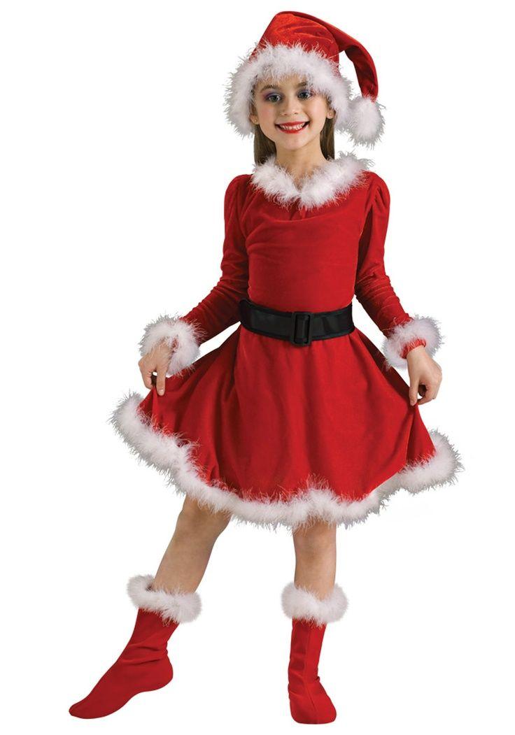 mrs claus dress girl - Buscar con Google | Etiquetado | Pinterest ...