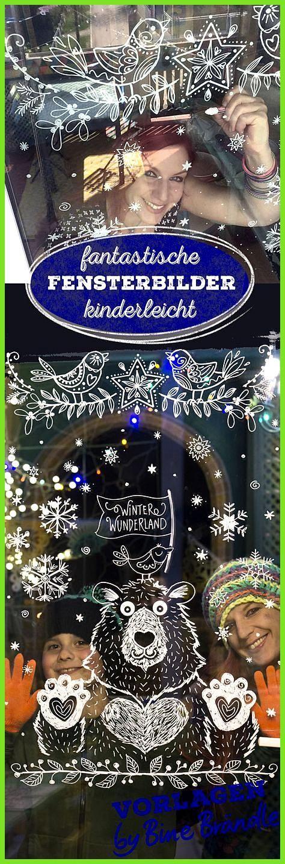 With The Xxl Templates By Bine Brandle Painting Window Pictures With The Bine Brandle Painting Fensterbilder Weihnachten Fensterfarbe Fensterbilder