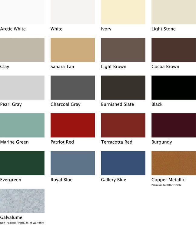 Tuff Rib Best Buy Metals Metal Roof Colors Metal Roof Roof Colors
