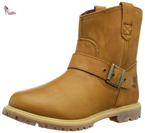 On Boots 6 Premium Pull Timberland Femme Waterproof Fauve pqg1xxZ