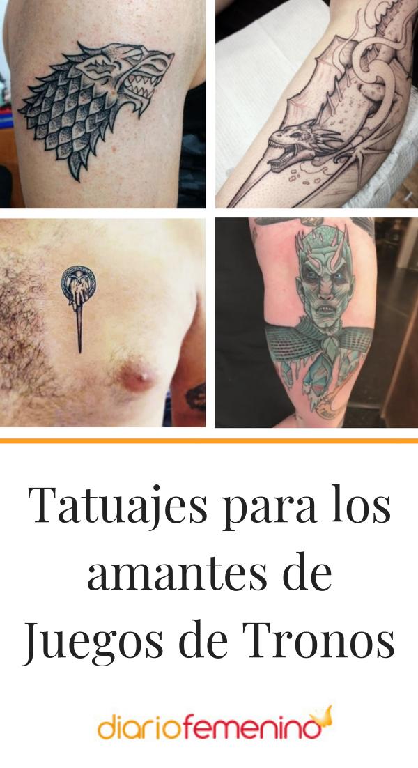 ¿Eres fan de Juego de Tronos? 😍  ¡Ficha estos tattoos inspirados en la serie! ⚔️  #tatuajes #tattoos #tattooart #tattoodesign #diseñosdetatuajes #DiarioFemenino