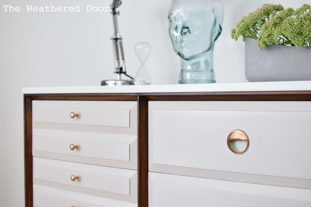 Before & After | LA Period Mid Century Modern Dresser
