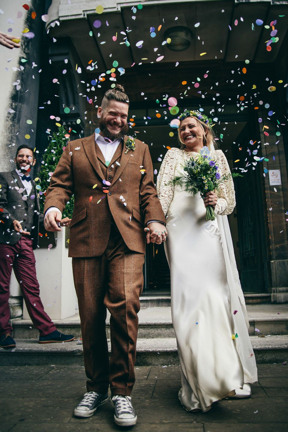 Best affordable wedding dress shops london  A us Wedding Dress For A Quirky and Vintage Inspired London Pub