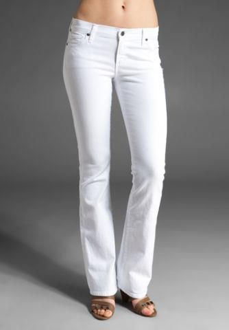 White jeans in the house at The Lime Leopard (Northpark Mall)