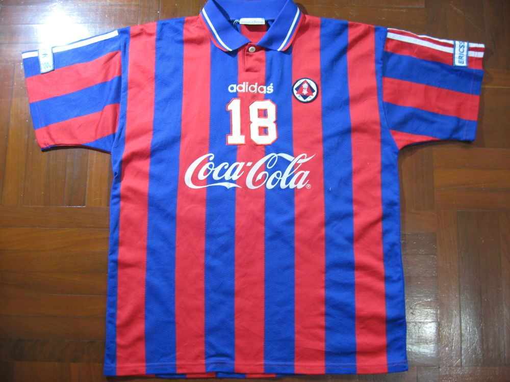 SOUTH CHINA AA 1995 ADIDAS HONG KONG 南華體育會 FOOTBALL SOCCER JERSEY SHIRT XL  VTG  de4991a46