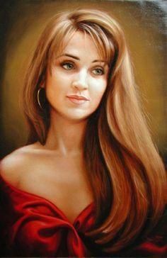 Irina Karkabi - Dolly 1, 2003, Oil on Canvas
