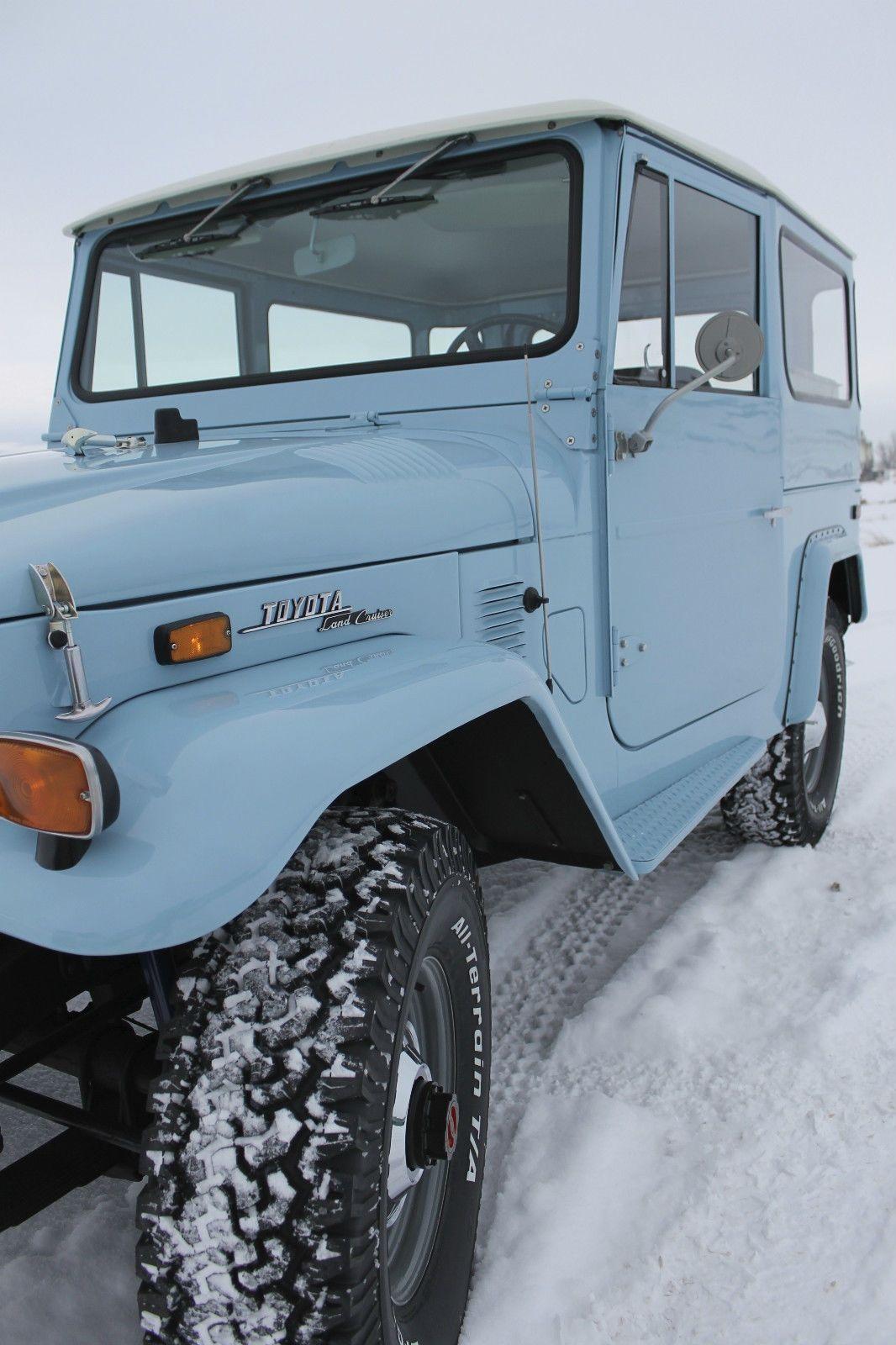 Toyota Land Cruiser Fj40 1973 Like The One In Mt Classic