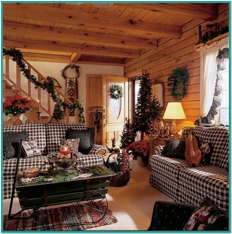 Photo of Country Primitive Living Room Ideas