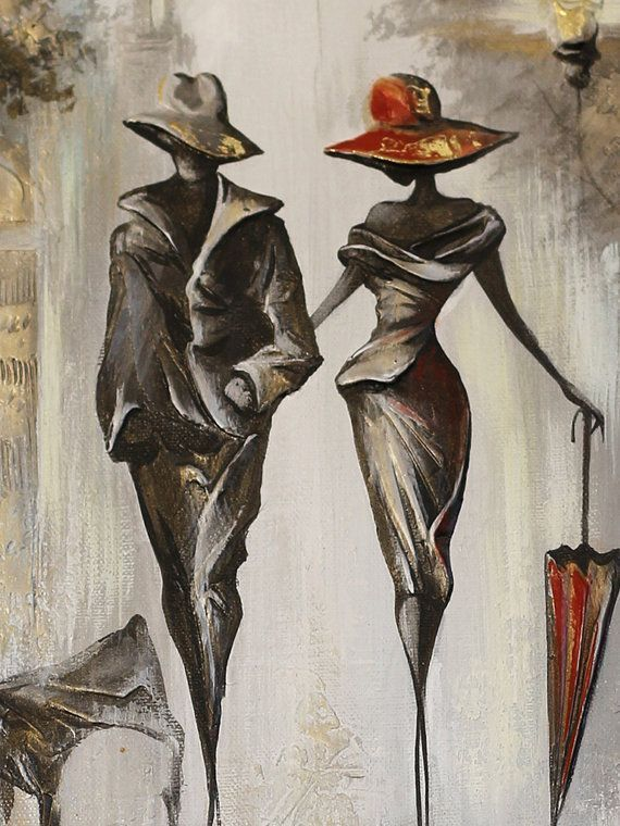 Silberölgemälde Schwarz-Weiß-Malerei Leinwandmalerei, minimalistische Kunst I ..., #Kunst #k...