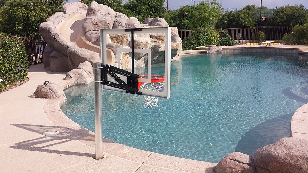 Pool Champ AZ HOOPS Arizona's Installed Basketball