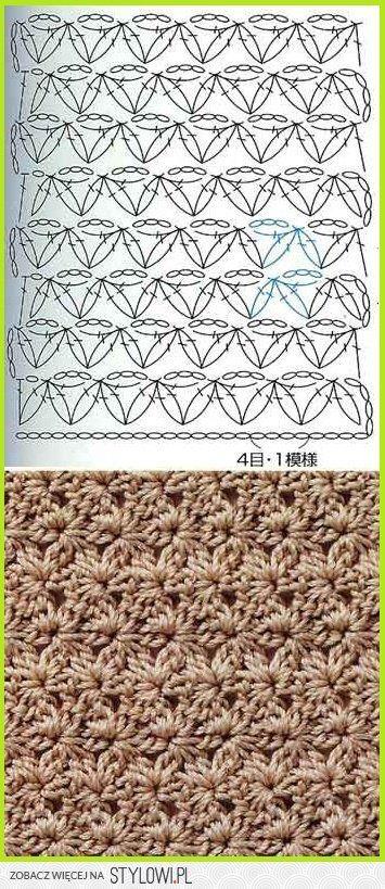 schemat | Crochet | Pinterest | Wolle, Stricken und Häkeln