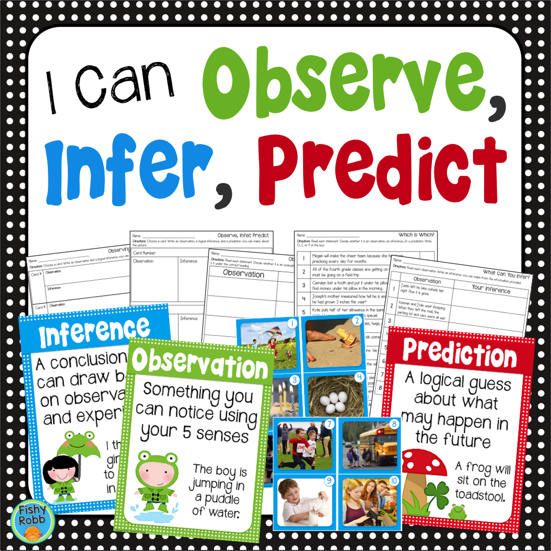 Making Observations Inferences And Predictions