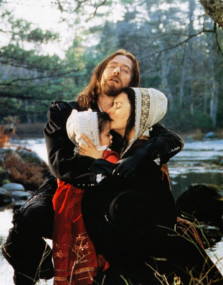 the scarlet letter, gary oldman (rear), front from left: scout