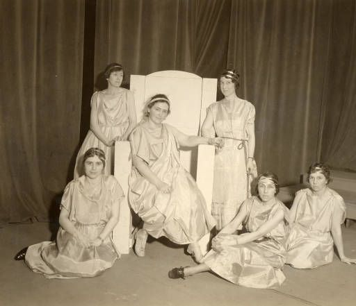 Persephone and Proserpine, Faculty Show 1933 :: Archives & Special Collections Digital Images